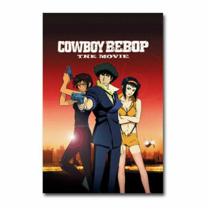 135C2 Cowboy Bebop Japan Anime 2 Deco Print Art Silk Poster