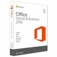 Microsoft Office Home & Business 2016 for MacOS Version