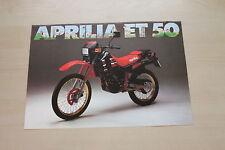165867) Aprilia ET 50 Prospekt 198?
