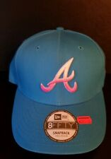New Era Atlanta Braves Snapback Cap S-M Cuved MLB USA Hip Hop