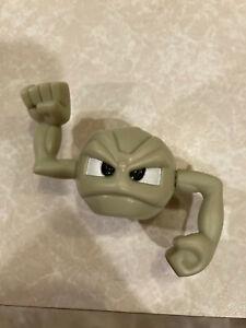2001 Pokemon Geodude Figure Kelloggs Bowl Buddy Pal
