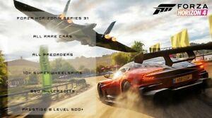 Forza horizon 4 Modded Series 31 Account *Online*