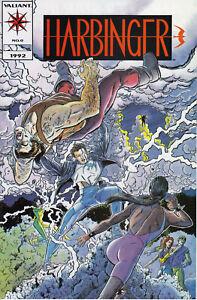 Valiant Comics Harbinger Comic lot of 9, #0, 19-30, VF-NM!