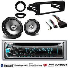 "Marine 6.5""Speaker/Adapters,iPod CD Radio,98-13 FLHT FLHX Install Harley Adapter"