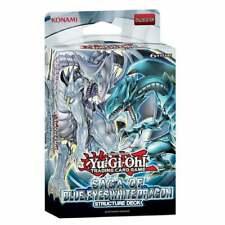 YuGiOh Saga of Blue-Eyes White Dragon Structure Deck SDBE New & Sealed TCG Cards