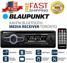 NEW Toronto Car Stereo Receiver Bluetooth In-Dash USB AUX SD Card AM/FM Radio