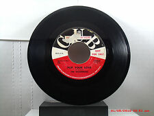 THE WANDERERS -(45)- SPECIAL DISC JOCKEY   FOR YOUR LOVE / SALLY GOODHEART- 1961