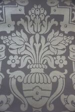 Cole & Son Wallpaper The Damask Collection ELIZABETHAN Chocolate/Bronze
