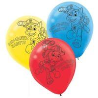 PAW PATROL Boys Latex Birthday Party Balloons x 6