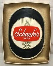 Vintage Schaefer Beer Sign