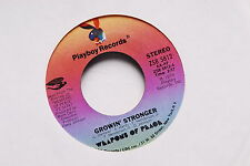 """WEAPONS OF PEACE Growin' Stronger/Just Keep On Smiling"""" PROMO 7"""" NM Playboy"""
