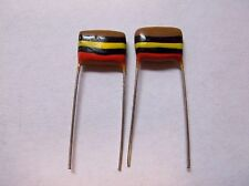 120 .1uf  250v Mullard Tropical Fish Capacitors  for   abstrakt_instruments