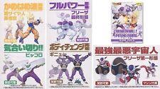 Banpresto Unifive Dragonball Posing Figure New Part 2 Set of 5 Color Ver.