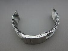 Milanaise Edelstahl Uhrenarmband 22 / 22 / 3,3 mm Stahlband von Aristo Vollmer