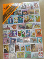 Collection Packet of 1000 Different WORLD Stamps Postmarked Used Condition