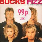 """BUCKS FIZZ heart of stone/here's looking at you PB 42305 uk rca 1988 7"""" PS EX/EX"""
