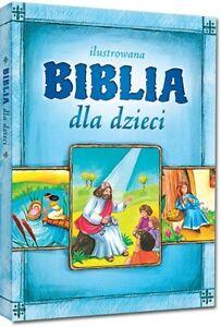 ilustrowana BIBLIA DLA DZIECI, Małgorzata Białek   Polish Book, Polska Książka