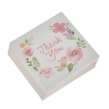 50 Pcs THANK YOU Flowers Paper Card Rewards Gift Bouquet Decorations for Wedding