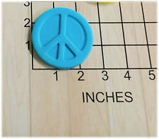 Hippy Peace Sign Cookie Fondant Cutter and Stamp #1006