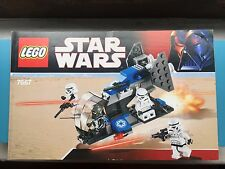 LEGO 7667 Star Wars Imperial Dropship INSTRUCTION MANUAL BOOK ONLY storm luke