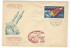 Russia Space Cover Dated Aug 11 1962 Launch Vostok 3