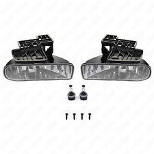 For GMC 99-02 Sierra 00-04 Yukon Clear Lens Fog Driving Light Assembly w/Bulbs