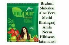 Godrej Nupur Henna Mehandi Powder Herbal Hair Color Colour Hair Dye