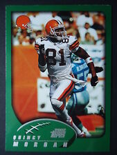 NFL 225 Quincy Morgan Cleveland Browns Topps 2002