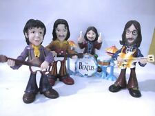 THE BEATLES: CARTOONS DOLLS FIGURES -BRAND NEW SET-In Box-Discontinued.!PIN FREE