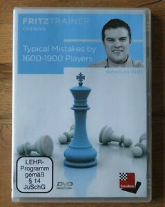 """ChessBase Fritztrainer Nicolas Pert """"Typical mistakes by 1600-1900 players"""""""