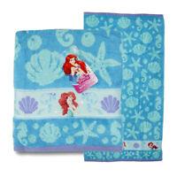"Disney Little Mermaid Ariel Seashells Cotton Bath Beach Pool Towel 28""x50"" NWT"