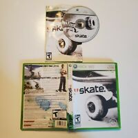 Skate - Xbox 360 - B+ Condition - Complete - Tested