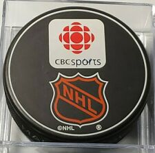 Al Secord #20 SIGNED HOCKEY NIGHT IN CANADA CBCSPORTS NHL RARE PUCK -VEGUM MFG.