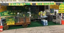 8' x 24' Ice Cream Concession Trailer Business for Sale in Texas!