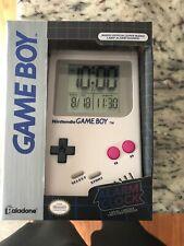 Nintendo Gameboy Alarm Clock-Official Super Mario Land Sounds-NIB-FREE SHIPPING!