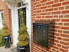 Large & Classy Home Parcel-Mailbox. Theft/Weatherproof, LOOK SMALL/STORE BIG