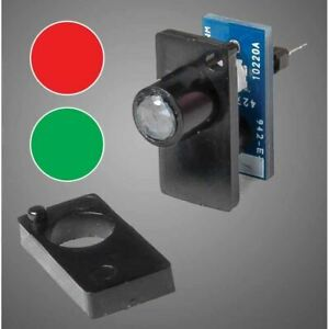 Walthers 942-152 Two Color LED Fascia Indicator, Red, Green