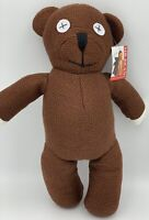 "Licensed Mr Bean Teddy Bear, 14"", 35cm Tall, Tiger Television, Doll, Toy, NEW"