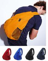 Universal Monostrap Backpack Single Strap Rucksack Messenger BagBase BG211 5e5c0ef47a152