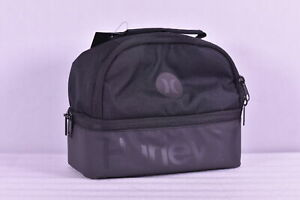Hurley Insulated Lunch Tote with Centered Logo Black