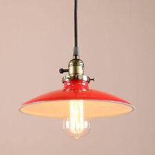 VINTAGE INDUSTRIAL PENDANT LIGHT SHADE HANGING LOFT CEILING LAMP