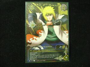 Naruto CCG TCG - The 4th Hokage 1590 Super Rare Foil Holo Card