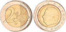 Belgien 2 Euro 2000 Fehlprägung 5-10% dezentriert ss-vz
