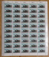 Bund 1328 postfrisch Bogen LUXUS Formnummer 0 BRD 1987 Motiv Pferde MNH