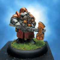 Painted Scibor Miniature Dwarf Iron Hammer