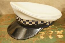 Vintage OBSOLETE Victoria Police Force Emerco Visor Hat Australia Size 6 7/8