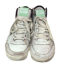 Rare Vintage ALL STARS Mens Leather Converse Pro High Trainers Size: 9UK