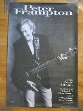 1994 Promotional PETER FRAMPTON New Album DAY IN THE SUN Poster