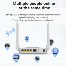 4G LTE Router AT&T T-Mobile SIM Card Unlocked 1200Mbps High Speed Internet Wi-Fi