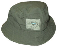 NEW KIDS BOYS KOALA BABY COOL PUPPY MILITARY BEACH SUN BUCKET HAT CAP BABY 3-9 M